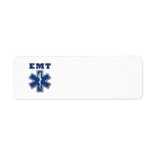 EMT Star of Life Label