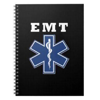 EMT Star of Life Notebook