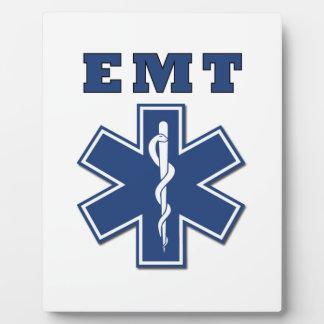 EMT Star of Life Photo Plaque