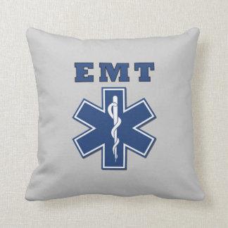 EMT Star of Life Throw Pillows