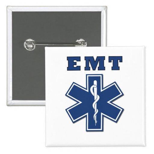 EMT Star of Life Pins