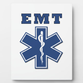 EMT Star of Life Display Plaques
