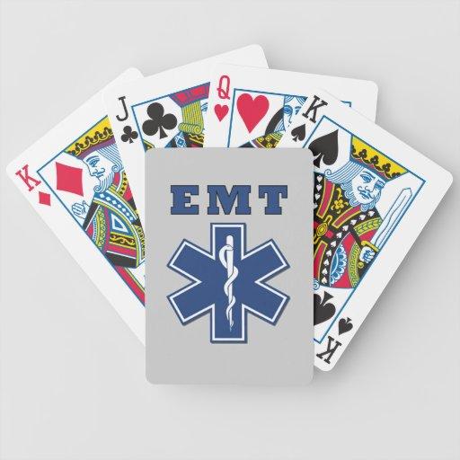 EMT Star of Life Poker Cards