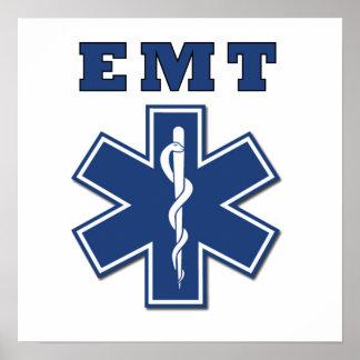 EMT Star of Life Poster