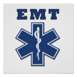 EMT Star of Life Posters