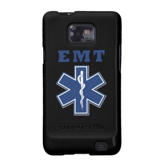 EMT Star of Life Samsung Galaxy S2 Cover