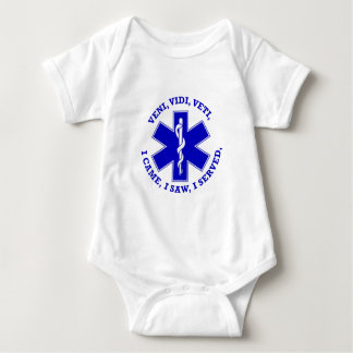 EMT Star Of Life Shield Baby Bodysuit