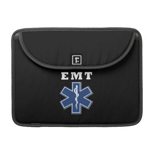 EMT Star of Life Sleeve For MacBook Pro