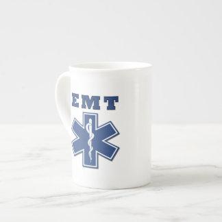 EMT Star of Life Porcelain Mugs