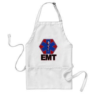 EMT STAR OF LIFE SYMBOL - EMERGENCY MEDICAL TECH ADULT APRON