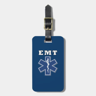 EMT Star of Life Tag For Luggage