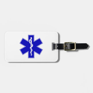 EMT Star of Life Tags For Bags