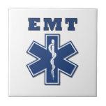 EMT Star of Life Tile