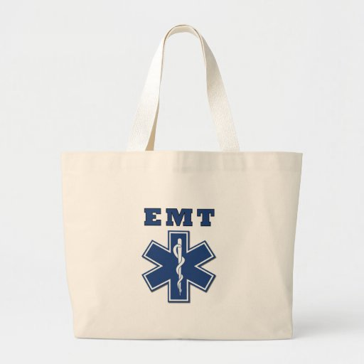 EMT Star of Life Tote Bags