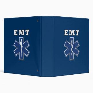 EMT Star of Life Vinyl Binder