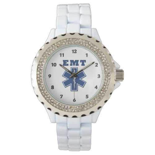 EMT Star Of Life Wrist Watch