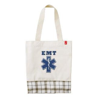 EMT Star of Life Zazzle HEART Tote Bag
