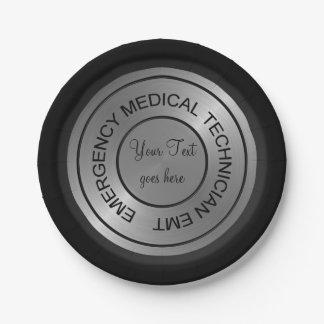EMT Stethoscope PAPER PLATES