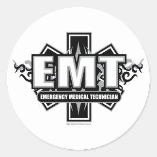 EMT Tribal Classic Round Sticker