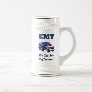 EMT We Are The Difference Beer Stein