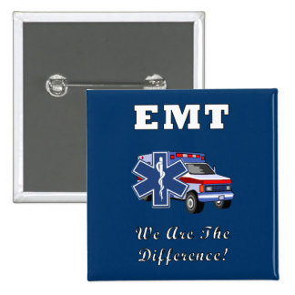 EMT We Are The Difference Button
