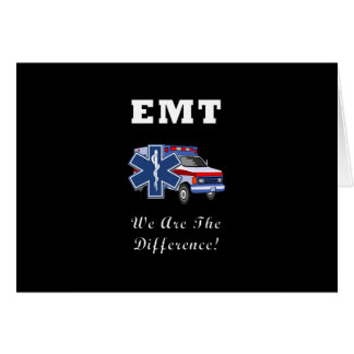EMT We Are The Difference Card