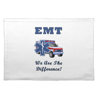 EMT We Are The Difference Cloth Placemat