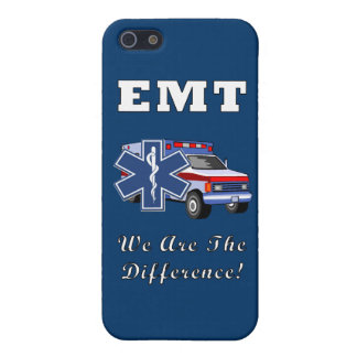 EMT We Are The Difference Cover For iPhone SE/5/5s