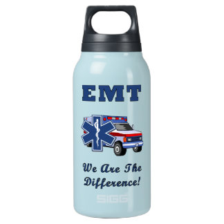 EMT We Are The Difference Insulated Water Bottle