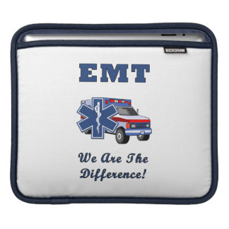 EMT We Are The Difference iPad Sleeve