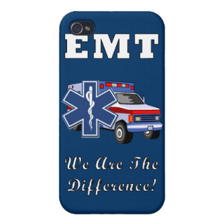 EMT We Are The Difference iPhone 4/4S Cover