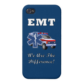 EMT We Are The Difference iPhone 4 Cover