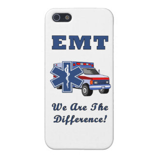 EMT We Are The Difference iPhone 5/5S Cases
