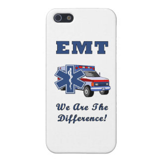 EMT We Are The Difference iPhone 5/5S Covers