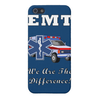EMT We Are The Difference iPhone 5 Cover