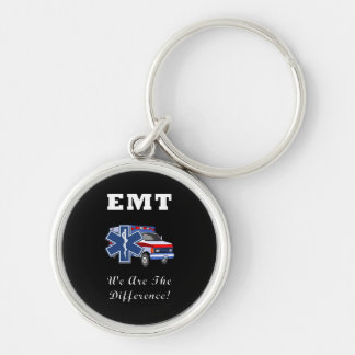 EMT We Are The Difference Keychain