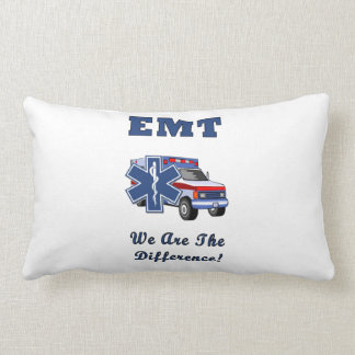 EMT We Are The Difference Lumbar Pillow