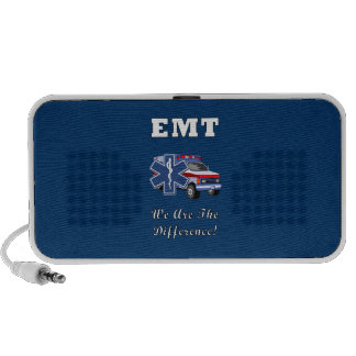 EMT We Are The Difference Notebook Speaker