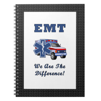 EMT We Are The Difference Notebooks