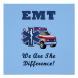 EMT We Are The Difference Posters