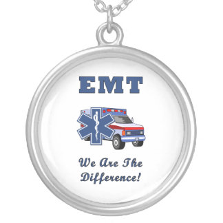 EMT We Are The Difference Round Pendant Necklace