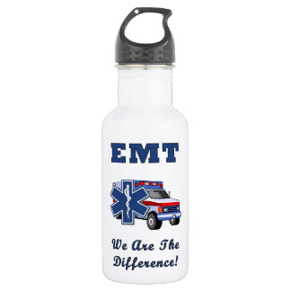 EMT We Are The Difference Stainless Steel Water Bottle