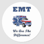 EMT We Are The Difference Sticker