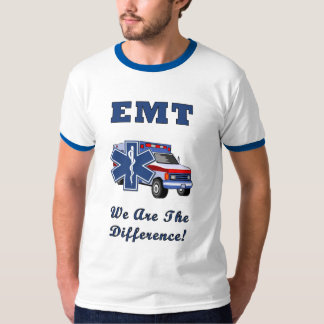 EMT We Are The Difference Tee Shirt