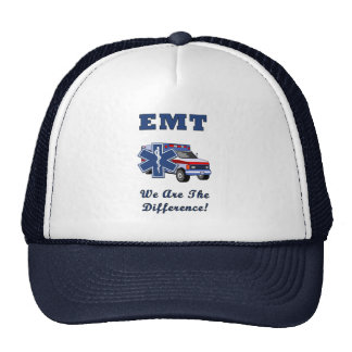 EMT We Are The Difference Trucker Hat