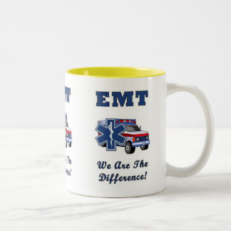 EMT We Are The Difference Two-Tone Coffee Mug