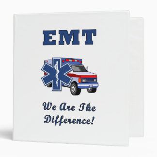 EMT We Are The Difference Vinyl Binder