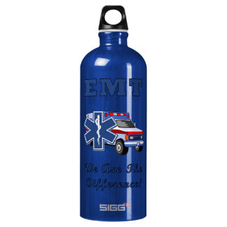EMT We Are The Difference Water Bottle