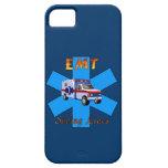 EMT, welches mueren rettet de Leben iPhone 5 Protectores
