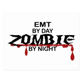 EMT Zombie Postcard